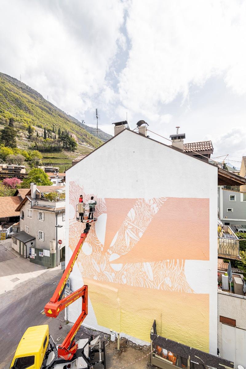 """Tellas """"Mimesi"""" series, 2021 Bolzano. A cura di OUTBOX"""