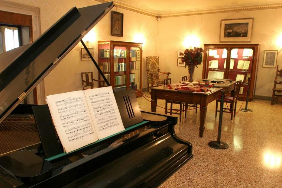 Il Museo Wagner nel Casinò di Venezia dove il maestro è morto