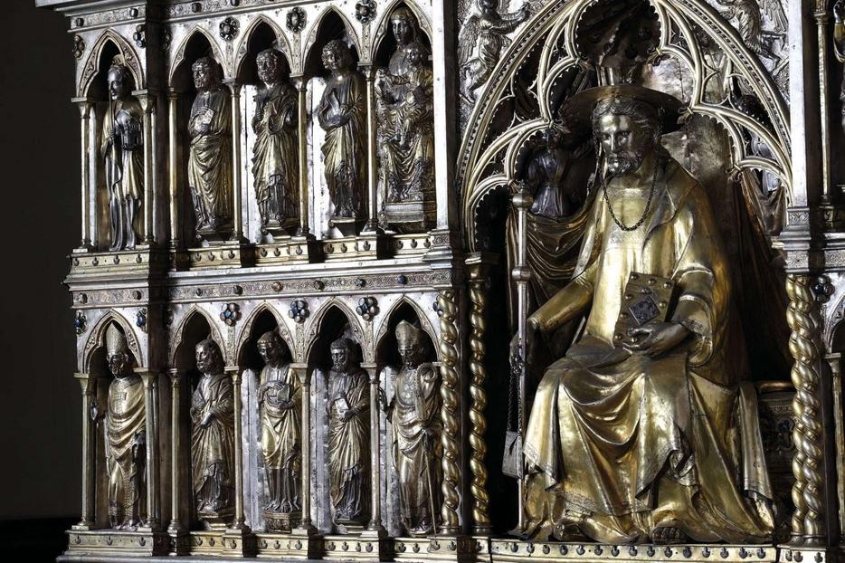 Il reliquiario di san Giacomo nella Cattedrale di Pistoia