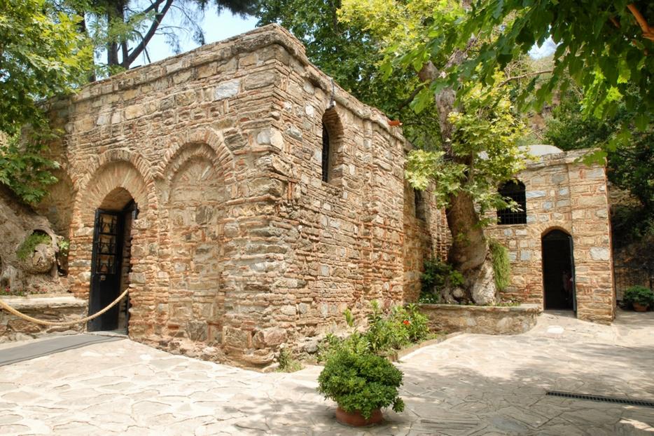 L'esterno della Casa di Maria (Meryem Ana)