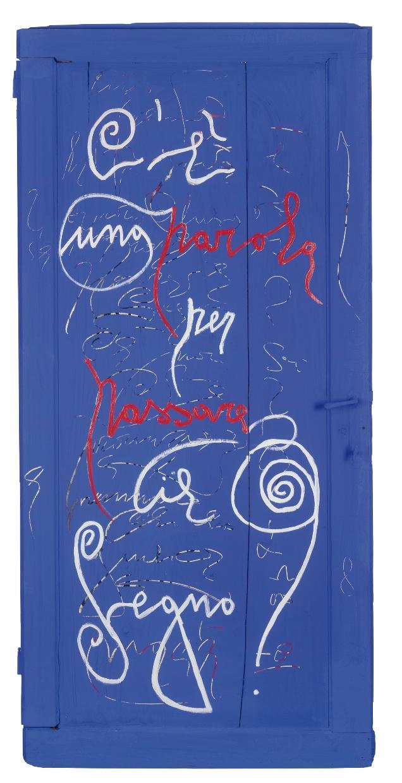 Una delle opere di Marco Nero Rotelli per la plaquette edita da Metteliana e Associazione Mendrisio Mario Luzi Poesia del mondo