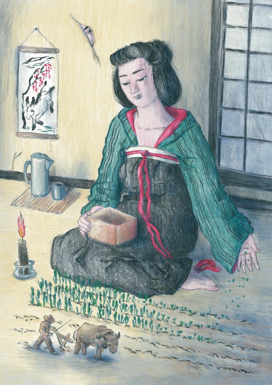 Cecilia Campironi, 'La signora numero tre' (Giappone)