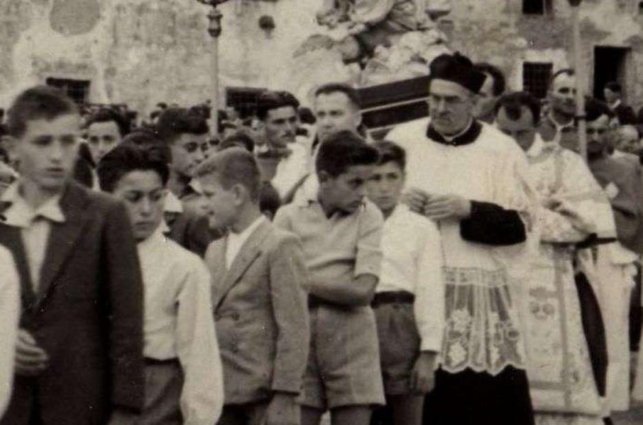 Il prete romagnolo don Pietro Poggiolini