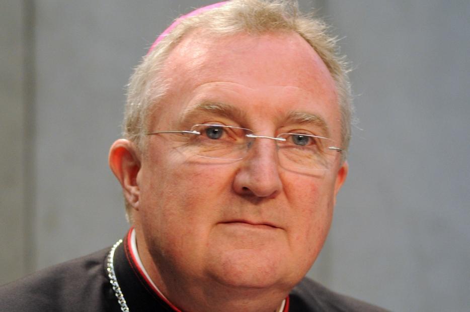 L'arcivescovo inglese Arthur Roche