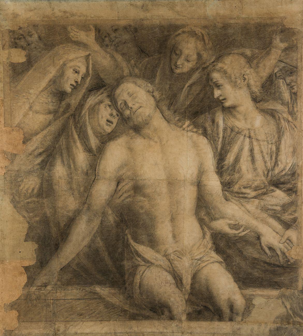 """Il cartone della """"Pietà"""" di Gaudenzio Ferrari (Torino, Accademia Albertina)"""