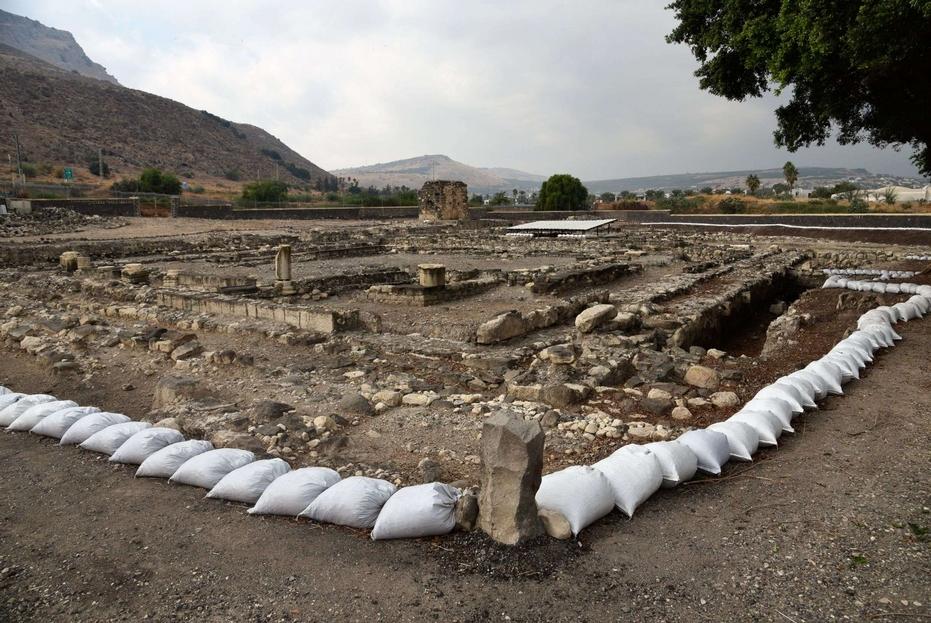 Vista generale del sito di Magdala della Custodia di Terra Santa