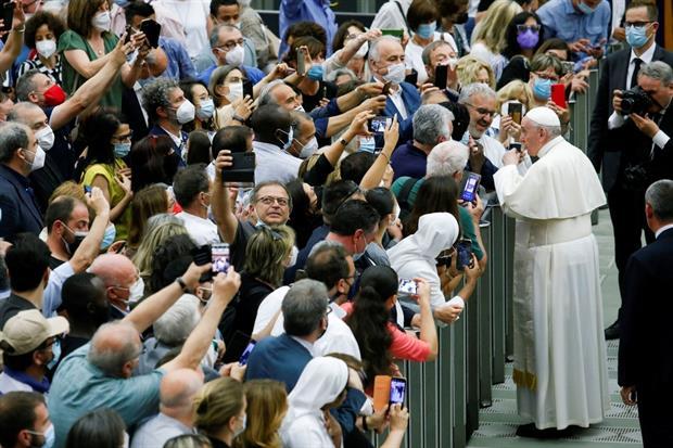 L'incontro con il Papa per i 50 anni di Caritas italiana