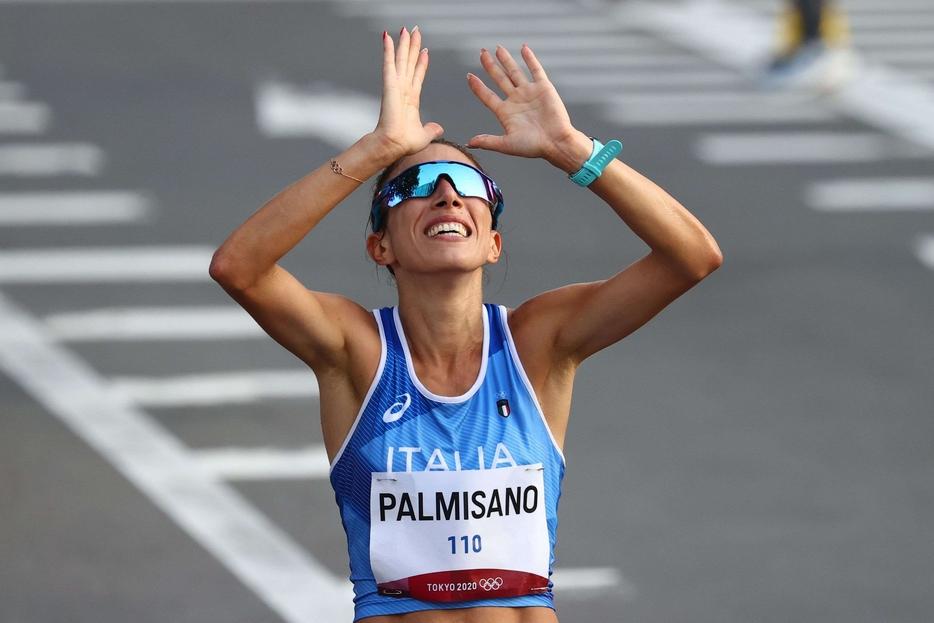La vittoria di Antonella Palmisano, oro nei 20 chilometri di marcia