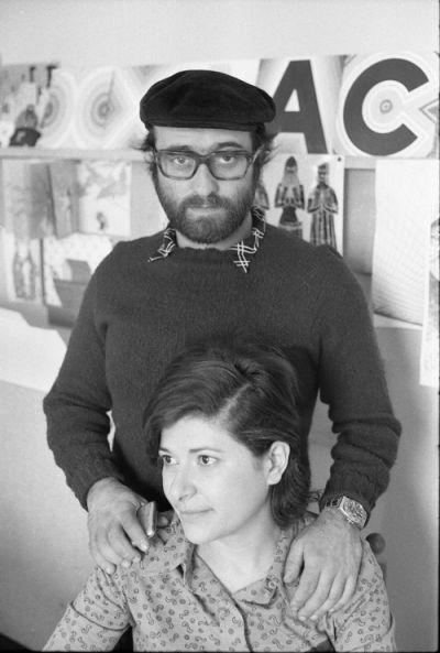Lucio Dalla e Paola Pallottino