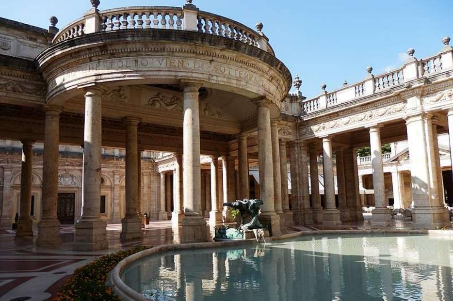 Il 'Tempio Termale' di Montecatini Terme
