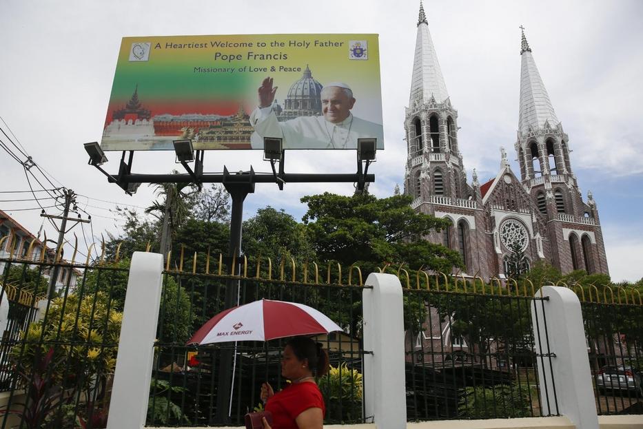 Nel 2017 la visita di Papa Francesco in Myanmar