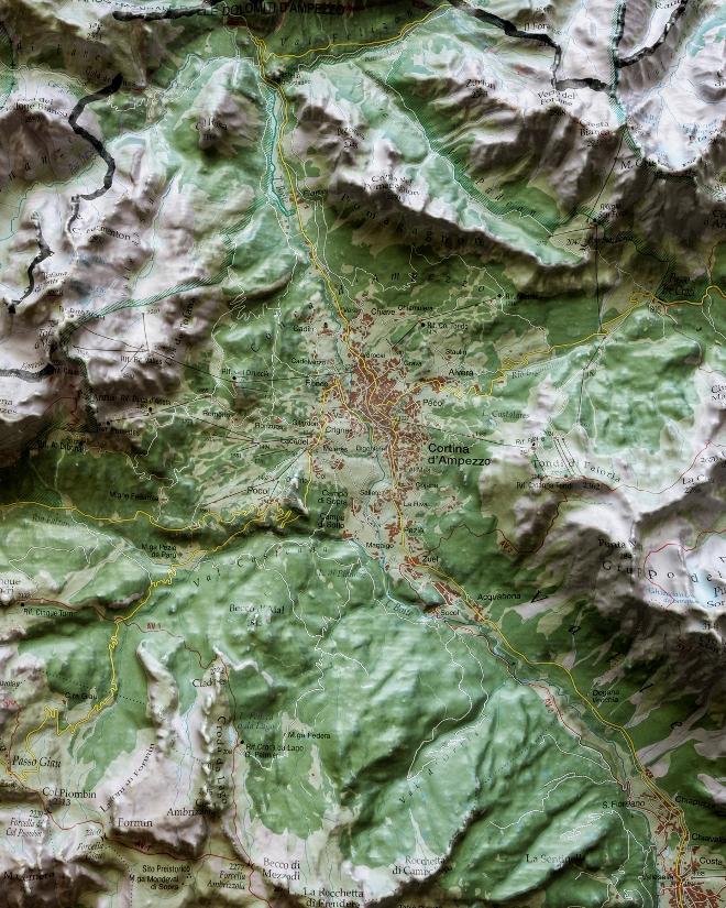 Cortina d'Ampezzo, 2020 (dal progetto Osservatorio Cortina 2021)