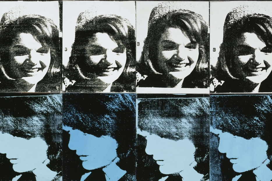 """Andy Warhol, """"Sixteen Jackies"""" (1964)"""
