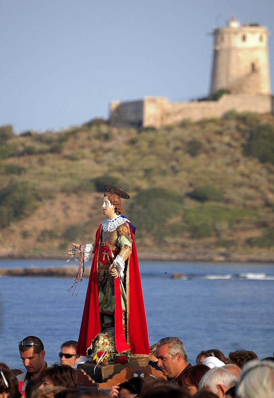 La Rete Destinazioni Pellegrinaggio Sardegna: la processione di Sant'Efisio a Nora