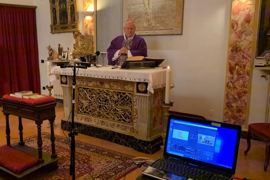 Il viola è il colore liturgico della Quaresima