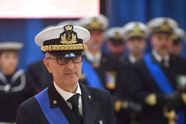 L'ammiraglio Nicola Carlone, nuovo comandante della Guardia costiera