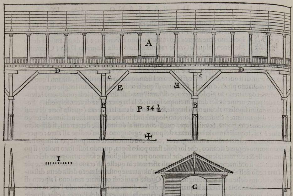 """Il progetto di Andrea Palladio nei """"Quattro libri dell'Architettura"""" (1570)"""