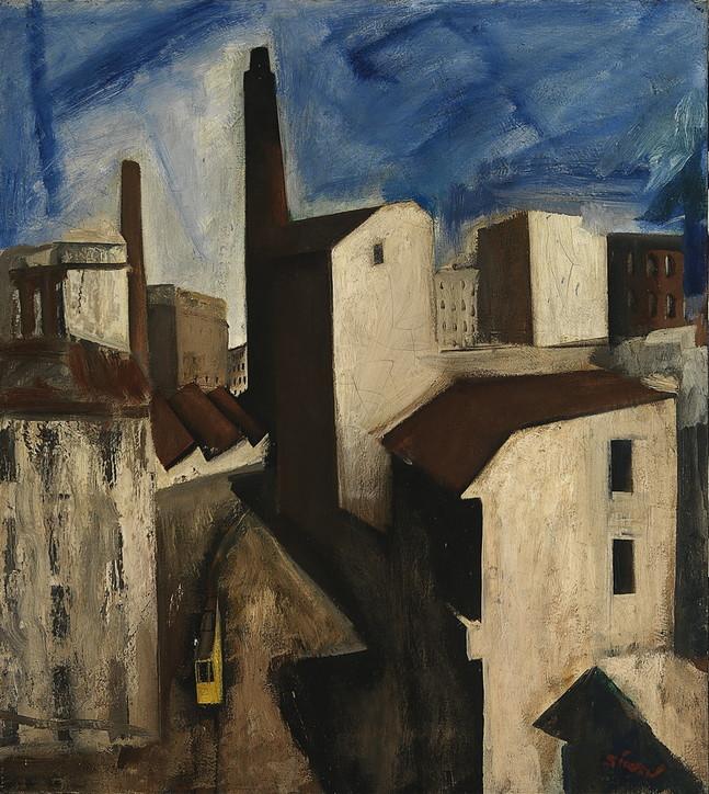 "Mario Sironi, ""Paesaggio urbano"" (1925-1928)"