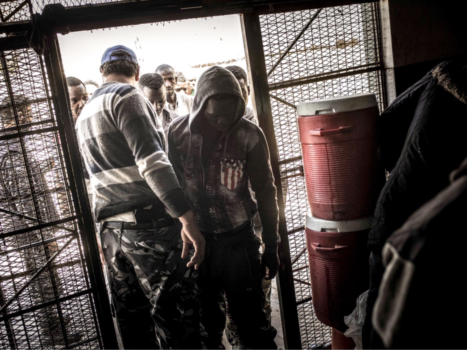 I centri di detenzione ufficiali a Tripoli
