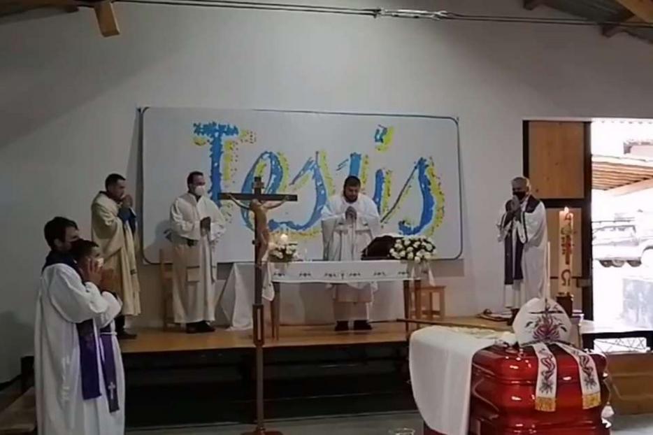I funerali del vescovo Ivo Baldi Gaburri in Perù