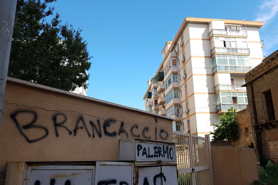 Il quartiere Brancaccio di Palermo