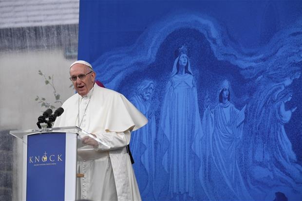 Papa Francesco a Knock il 26 agosto 2018