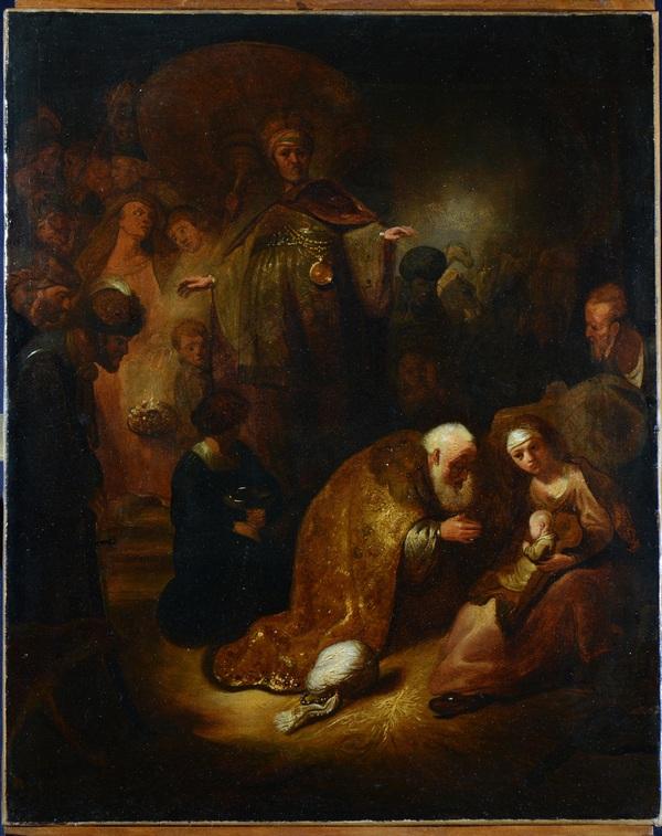 L'Adorazione dei Magi di Rembrandt