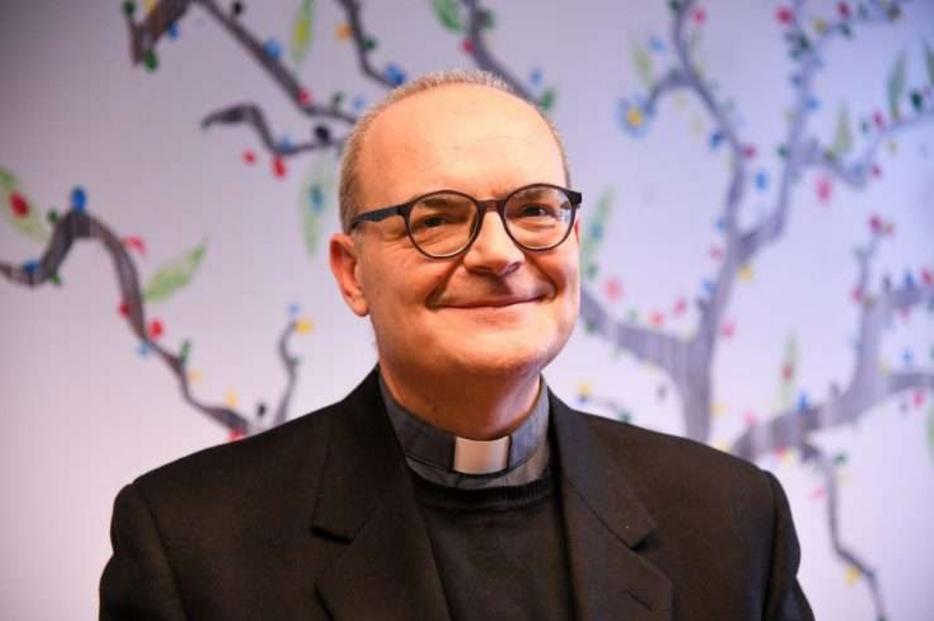 Monsignor Valentino Bulgarelli, direttore dell'Ufficio catechistico nazionale e sottosegretario della Cei