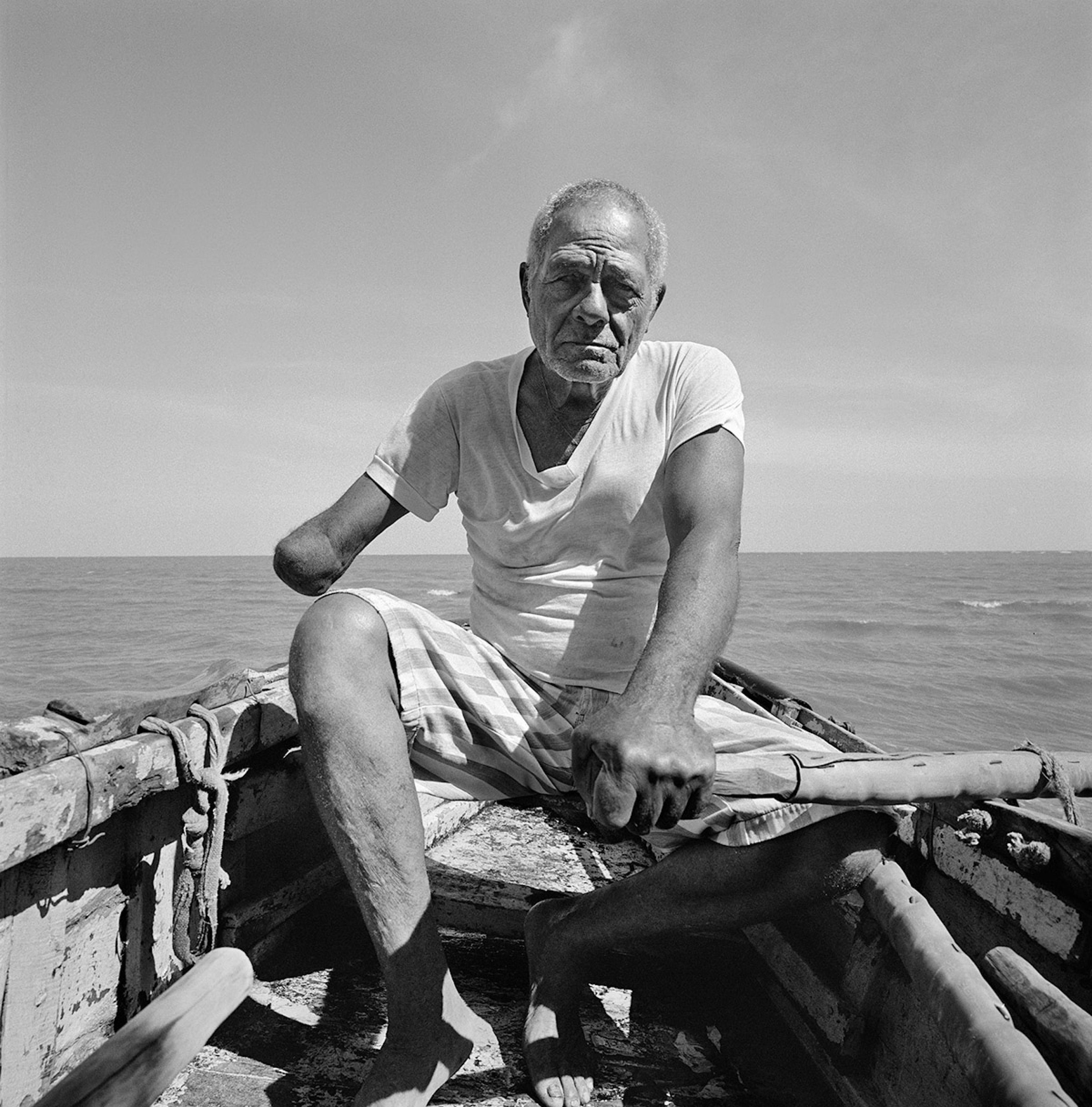 """Manzanillo, Cuba, 2016.  """"Ogni giorno vado in mare"""