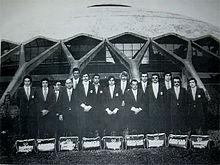 L'Ariccia volley, la squadra in cui giocava Kirk Kilgour