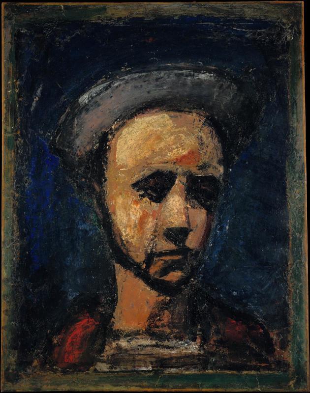 """Georges Rouault, """"L'apprenti ouvrier"""" '1925)"""