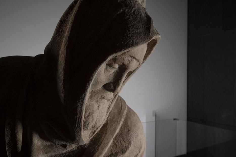 Dettaglio del volto di Nicodemo