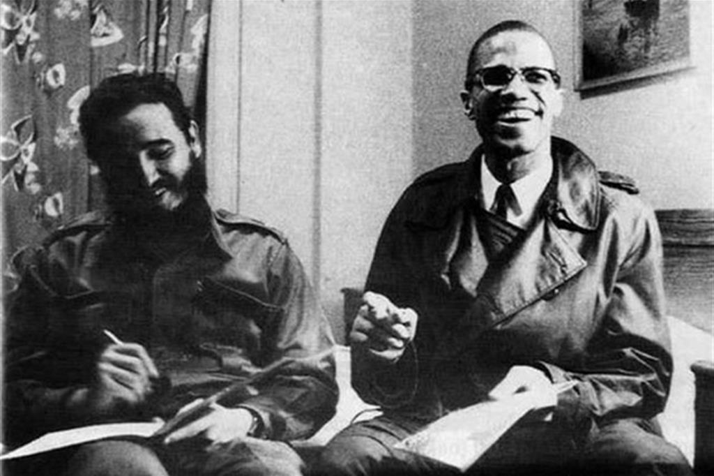 Fidel con Malcolm X (1960) -