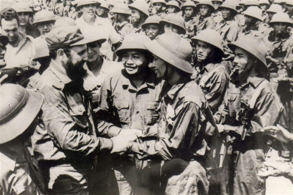 Castro durante la guerra del Vietnam (1973) -