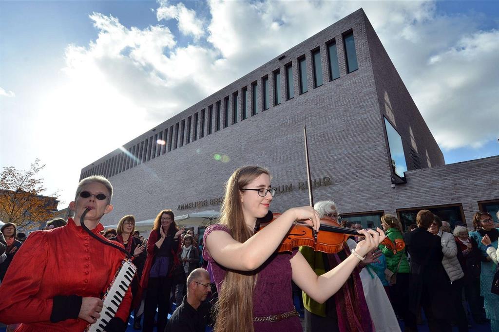 L'inaugurazione dell' Anneliese Brost Musikforum di Bochum (foto L. Leitman) -