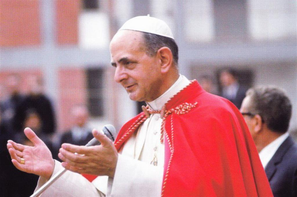 Paolo VI e quel Natale 1966 tra gli alluvionati di Firenze