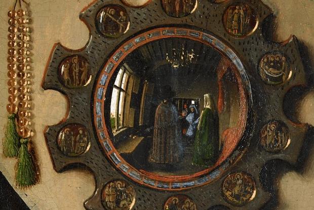 La nascita del quadro nell 39 arte fiamminga un saggio di hans belting - Lo specchio nell arte ...