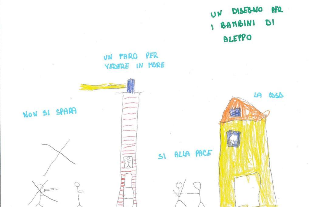 I Disegni Degli Alunni Di Bergamo Per I Bambini Di Aleppo