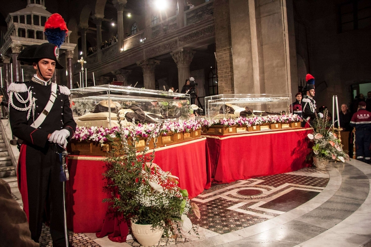 Giubileo: spoglie di padre Pio a Roma