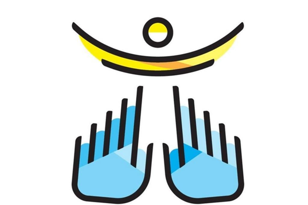 Il logo per la visita di Papa Francesco a Milano il 25 marzo 2017