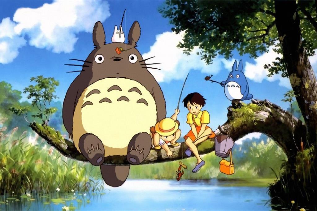 Miyazaki cartoni animati sui passi di papa francesco