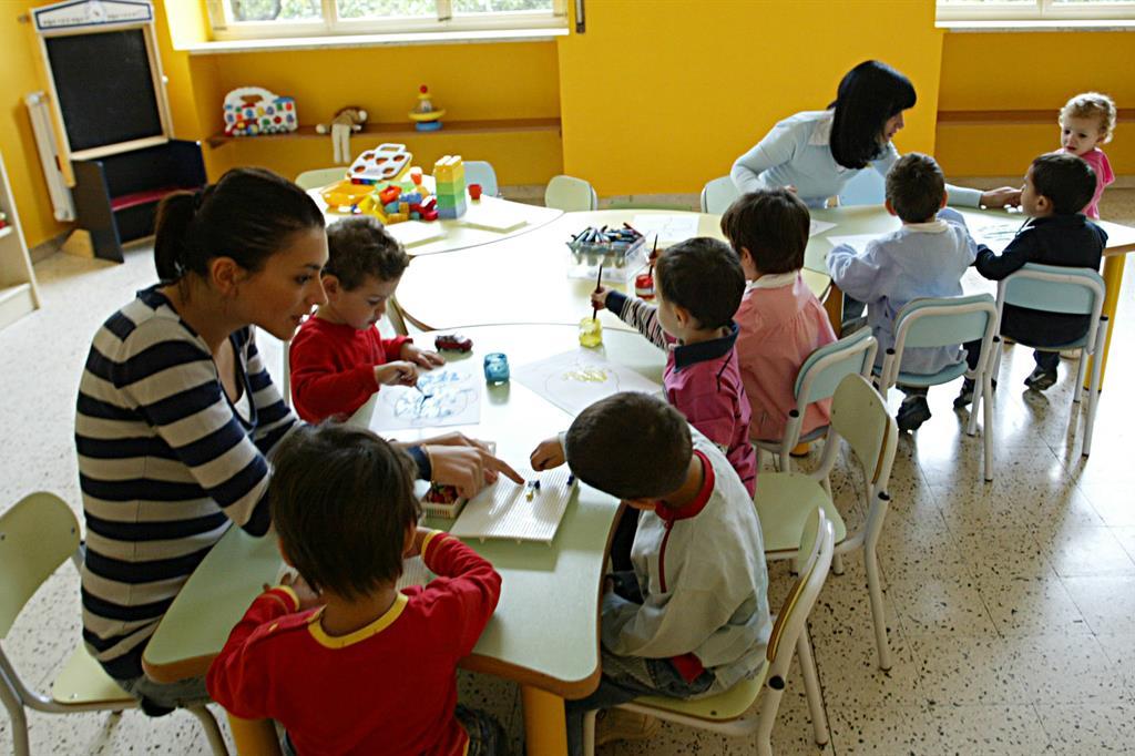 Paritarie, raddoppiano i fondi per materne e disabilità