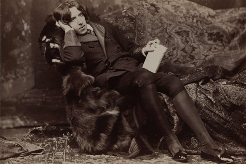Napoleon Sarony, Ritratto di Oscar Wilde #15, 1882. (Biblioteca del Congresso del Congresso, Washington) -