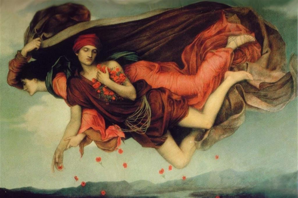 Evelin Pickering, La Notte e il Sonno, 1878. (De Morgan Foundation) -