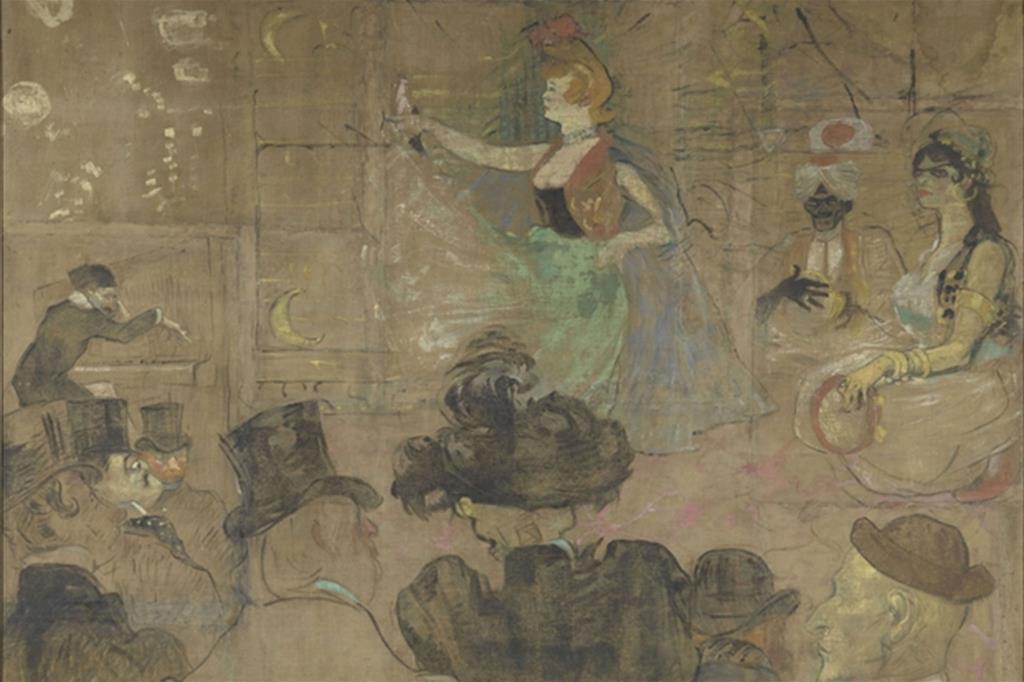 7. Henri de Toulouse-Lautrec (1864-1901), La Danse mauresque, 1895. (Grand Palais - musée d'Orsay / Hervé Lewandowski) -