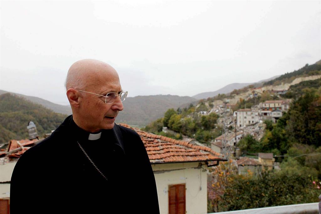 Il cardinale Bagnasco a Pescara del Tronto -
