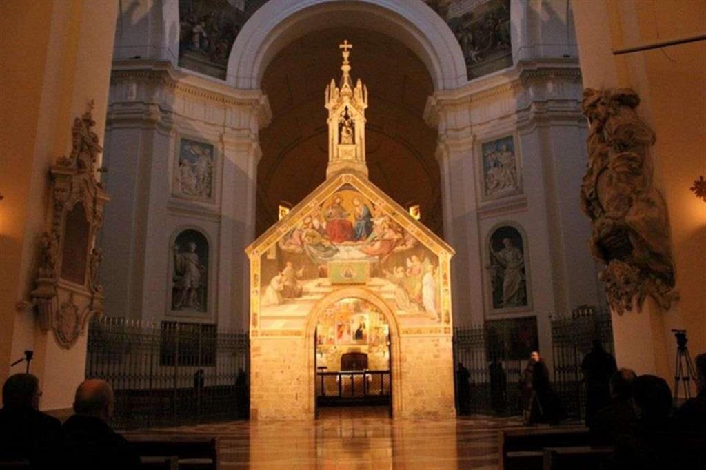 Porziuncola dal sito www.avvenire.it
