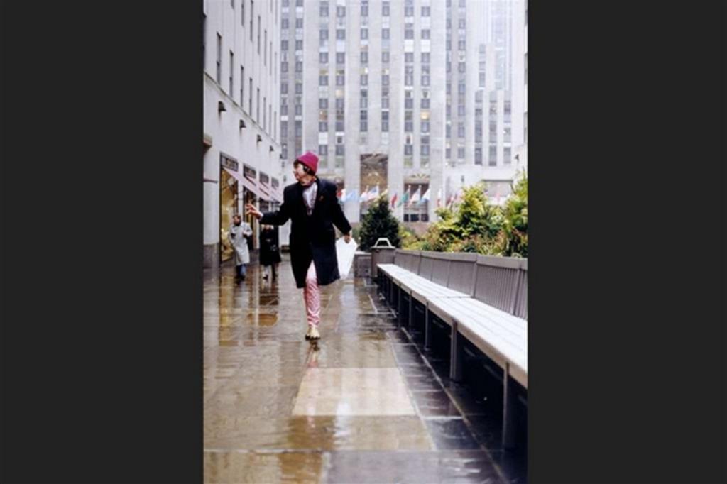 Isa che danza, New York, 1995 (Wolfgang Tillmans) -