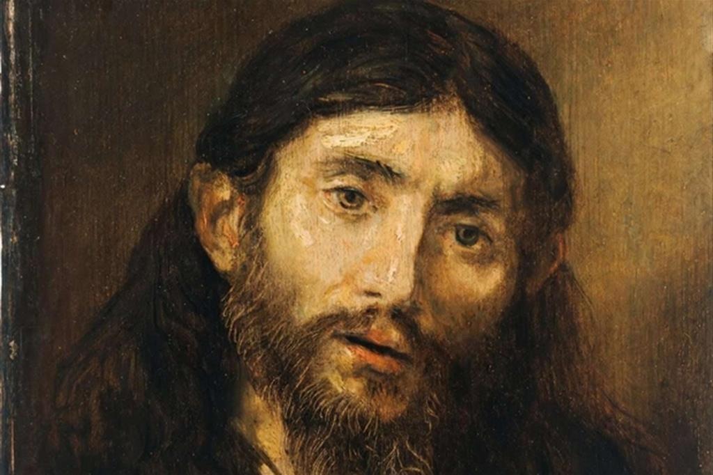 Un ritratto di Cristo dipinto da Rembrandt