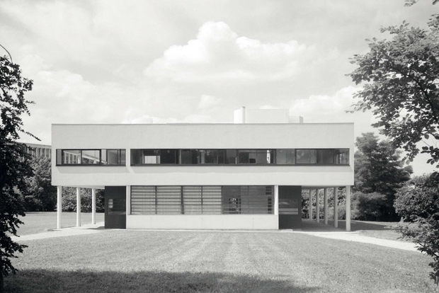 Interni Di Villa Savoye : Villa savoye la casa manifesto di le corbusier